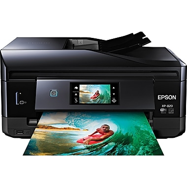 Epson Expression XP-820 All-In-One Color Inkjet Printer