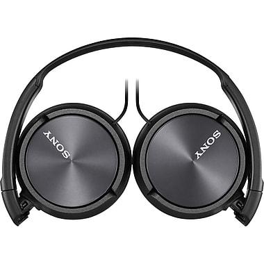 Sony® – Casque d'écoute MDRZX310APB pour téléphone intelligent, noir