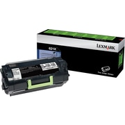 Lexmark 621X Return Program Toner Cartridge, Extra High Yield (62D1X00)