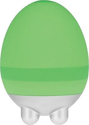 PCH Ergonomic Mini Handheld Egg Massager, Green