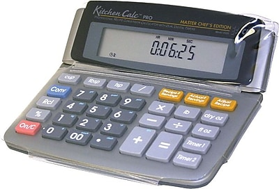 Calculated Industries KitchenCalc Pro Master Chef Edition Calculator 1199928