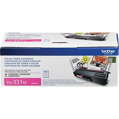 Brother – Cartouche de toner magenta TN331, (TN331M)