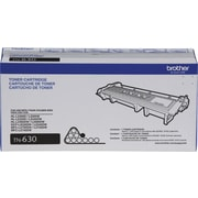 Brother TN630 Black Toner Cartridge, Standard Yield (TN630)