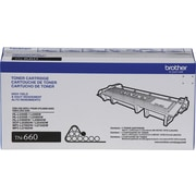 Brother TN660 Black Toner Cartridge, High Yield (TN660)