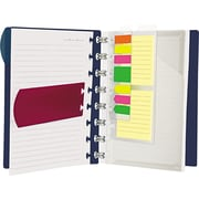 Ampad Versa Crossover Notebook, Wide Ruled, 11-1/2 x 10-1/4, Navy, 60 White Sheets