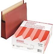 """Pendaflex Premium Reinforced 7"""" Expansion File Pocket, Straight Cut, Letter Size, 5/Box"""