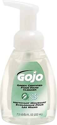 GOJO Premium Foam Antibacterial Hand Wash, Fresh Fruit Scent, 7.5 oz. Pump