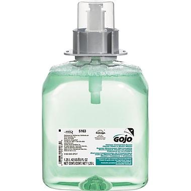 GOJO Luxury Foam Hair & Body Wash, 1250mL Refill, Cucumber Melon Scent
