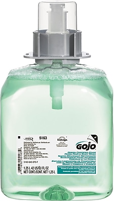 GOJO Luxury Foam Hair & Body Wash, 1250mL Refill, Cucumber Melon Scent