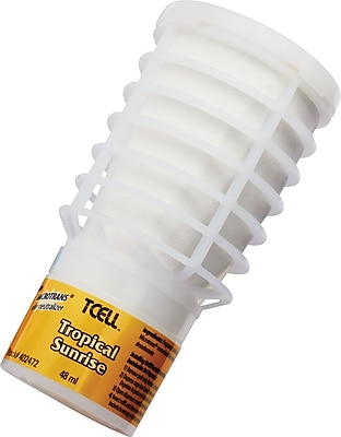 Rubbermaid TCell Microtrans Odor Neutralizer Refill, Tropical Sunrise, 1.62oz