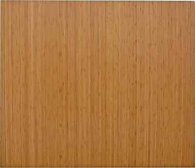 Anji Mountain Roll-Up 48''x60'' Bamboo Chair Mat for Hard Floor, Rectangular, Natural (AMB24042)