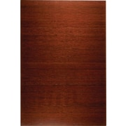 Anji Mountain Deluxe Roll-Up 48''x72'' Bamboo Chair Mat for Hard Floor, Rectangular, Dark Cherry (AMB24015W)