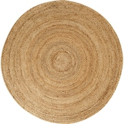 Anji Mountain Kerala Natural Jute Area Rug 6' Round (AMB0328-060R)