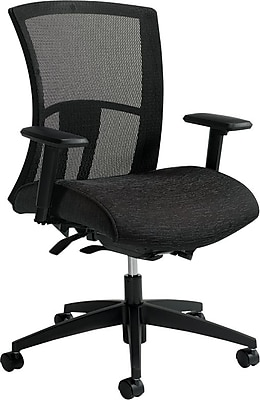 //.staples-3p.com/s7/is/  sc 1 st  Staples & Global Vion Fabric Executive Office Chair Adjustable Arms Black ...