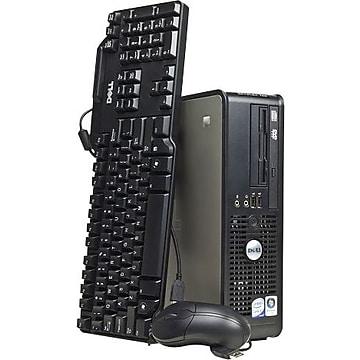 Dell OptiPlex 755 Refurbished SFF Desktop Computer, Intel Core 2 Duo, 4GB RAM, 250GB HDD (DELL.PC.A000001)