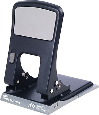 Staples 26613 One-Touch 2-Hole Punch, 30 Sheet Capacity