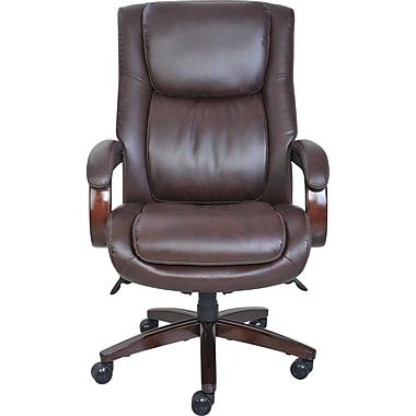 la-z-boy winston big & tall chair, brown or black | staples®