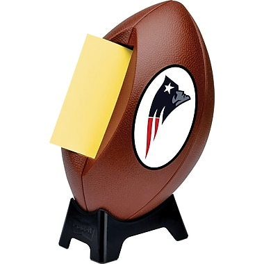 Post-it® NFL Pop-up Notes Dispenser, New England Patriots, 3