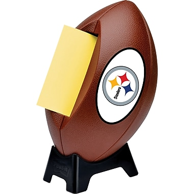 Beautiful Post It® NFL Pop Up Notes Dispenser, Pittsburgh Steelers, 3