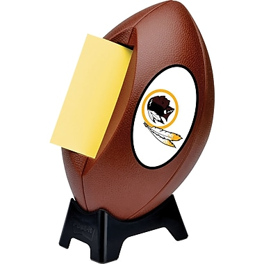 Post-it® NFL Pop-up Notes Dispenser, Washington Redskins, 3