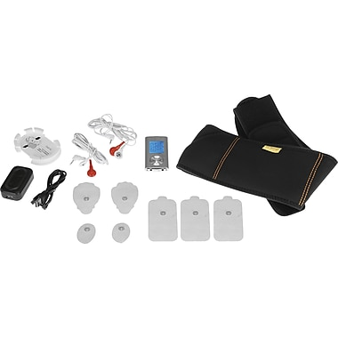 PCH Digital Pulse Massager Belt Combo Set, Silver