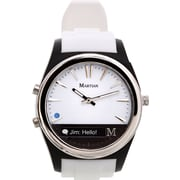 Martian - Montre intelligente Notifier, blanc
