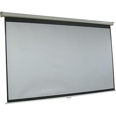 84 inch Manual Projection Screen (White)