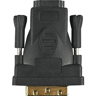HSO M2C09713 HDMI to DVI 24 + 1 Adapter, Black