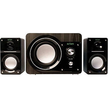 Arion AR306-BK 2.1 Speaker, Black