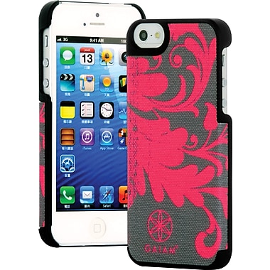 Gaiam iPhone 5/5S Fabric Case, Pink Filigree