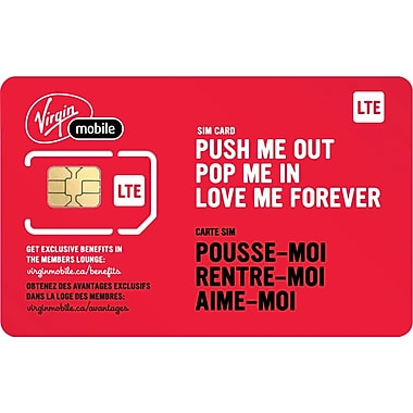 Virgin LTE SIM Card