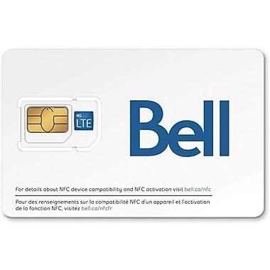 Bell - Carte SIM combinée Micro/Standard