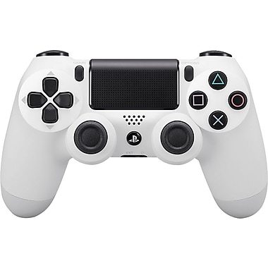 PlayStation 4 - Manette sans fil DUALSHOCK 4, blanc glacier