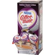 Nestlé® Coffee-mate® Coffee Creamer, Italian Sweet Créme, .375oz liquid creamer singles, 50 count