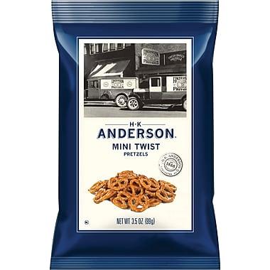 Anderson Mini Pretzel Twists, 3.5 oz, 8/Box