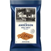 Anderson Mini Pretzel Twists, 3.5 oz, 8/Box