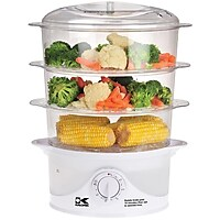 Kalorik 3 Tier Electric Food Steamer