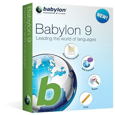 Babylon 9.0.7 for Windows (1 User) [Download]