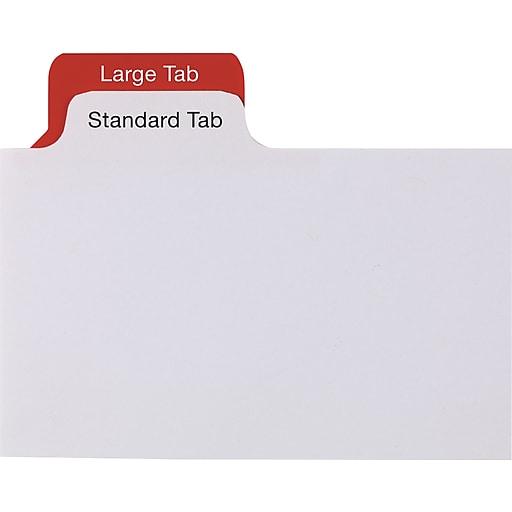 staples write on big tab dividers 8 tab set white tabs 4 pack