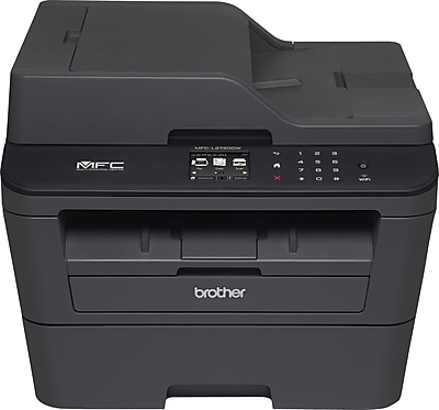 Brother MFCL2720DW Compact Wireless Multifunction Monochrome Laser Printer with Duplex Printing and 2.7