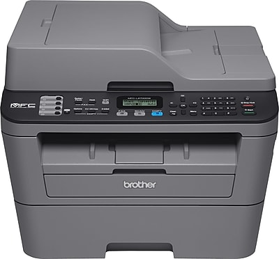 Brother MFCL2700DW Compact Wireless Multifunction Monochrome Laser Printer with Duplex and Mobile Device Printing