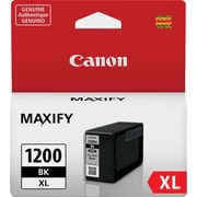 Canon PGI-1200 XL Black Ink Cartridge (9183B001), High Yield