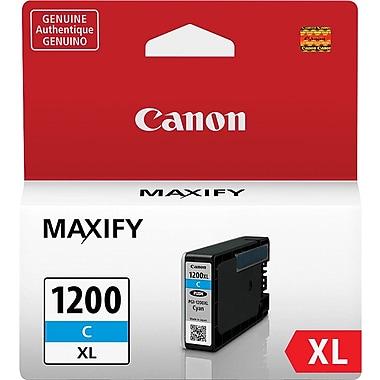 Canon PGI-1200 XL Cyan Ink Cartridge (9196B001), High Yield