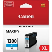 Canon PGI 1200XL Cyan Ink Cartridge, High Yield (9196B001)