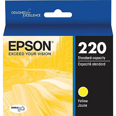 Epson 220, Yellow Ink Cartridge (T220420)