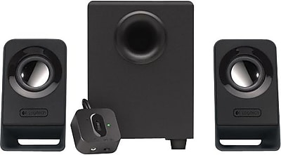 Logitech Z213 Multimedia Speakers and Subwoofer for Multiple Devices, Black (980-000941)