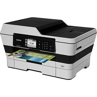 Brother® EMFCJ6920DW Color All-in-One Printer, Refurbished