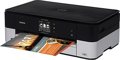 Brother Business Smart™ MFCJ4320DW Wireless Multifunction Color Inkjet Printer with 11