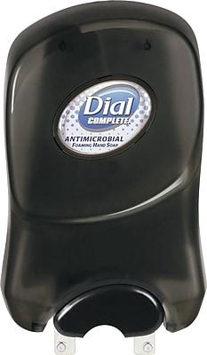 Dial® Duo Manual Soap and Hand Sanitzer Dispenser