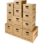 SmoothMove Classic Moving and Storage Kit, 8 Small and 4 Medium Boxes